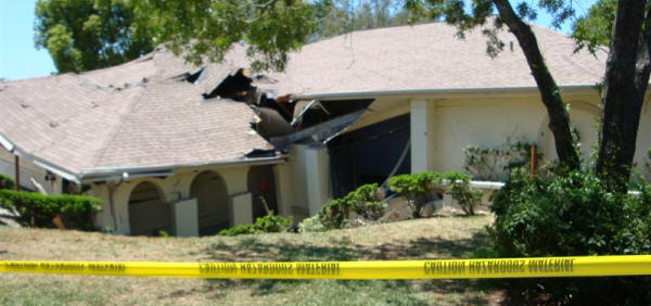 Ocala Florida Sinkhole Damage Repair
