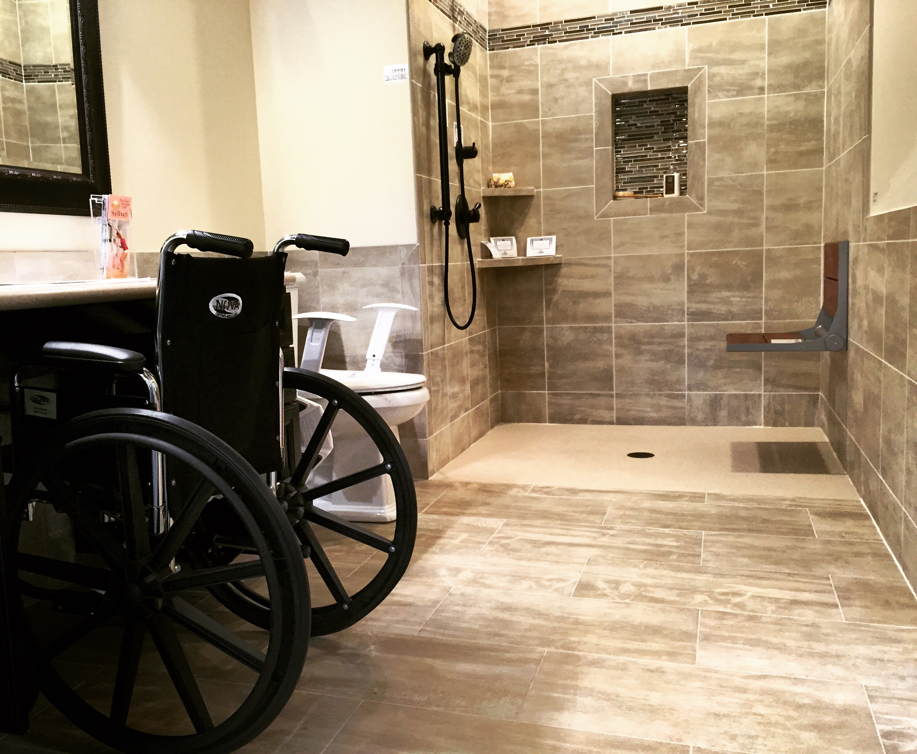 Handicap accessible remodeling by ocala restoration and for Handicap baths